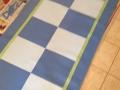 Blue Checks 3x7