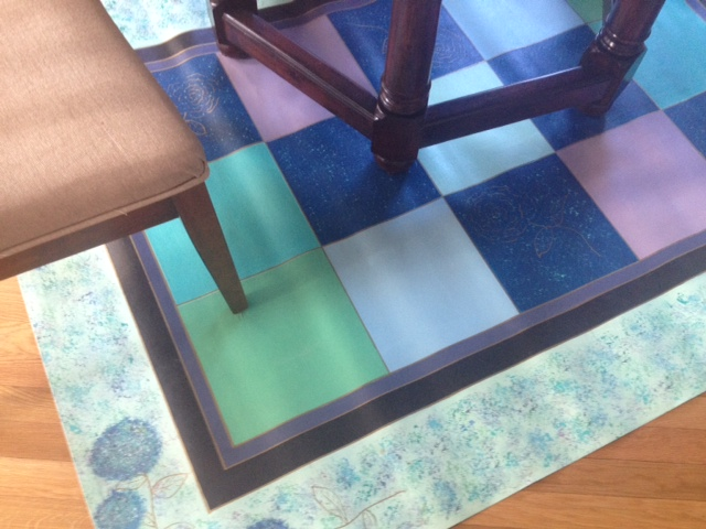 Large cloths - great under dining tables!